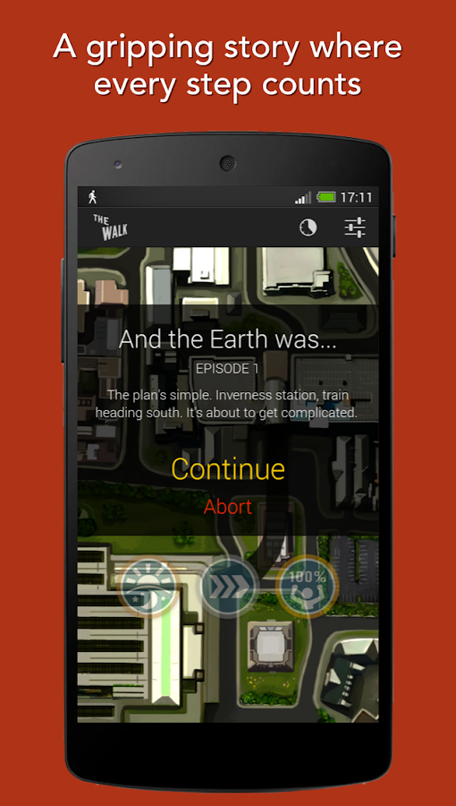 The Walk: Fitness Tracker Game Screenshot 2