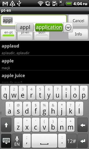 Portuguese-English Dictionary