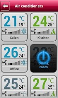 Screenshot of AC Mobile Control