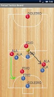 Screenshot of Futsal Tactics Board [Free]