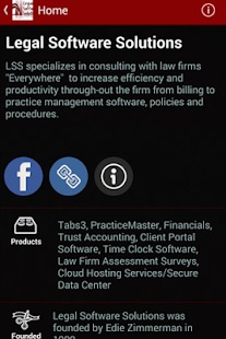 Legal Software Solutions - screenshot