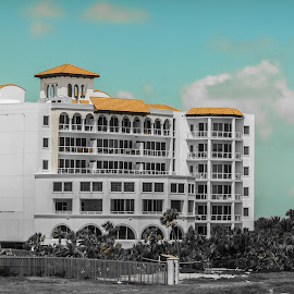 Beach Resort by Andrew J Knepper - Buildings & Architecture Office Buildings & Hotels ( summer, resort, hotel, beach, paradise, ocean view )