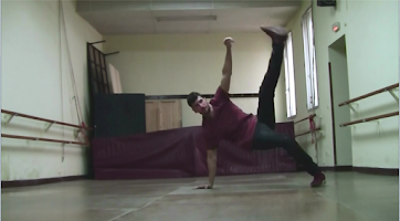 Screenshot of breakdance tutorial
