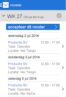 Screenshot of Mijn Randstad