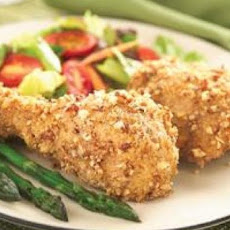 Pecan-Crusted Chicken Drumsticks
