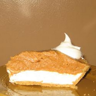 Double Layer Pumpkin Pie With Cream Cheese Recipes