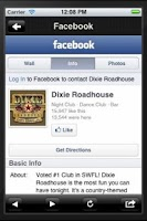 Screenshot of Dixie Roadhouse