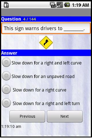 Nevada Driving Tests - 2013