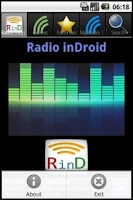 Screenshot of Radio inDroid