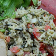 Wild Rice and Pepper Salad