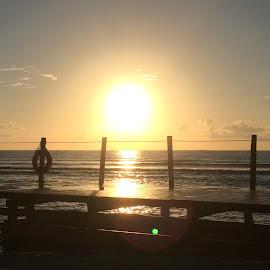Sunrise in Riviera Maya by Tonja Price - Landscapes Sunsets & Sunrises
