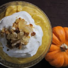 Pumpkin Coconut Pudding