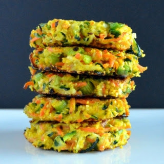 Vegetable and Cornmeal Fritters
