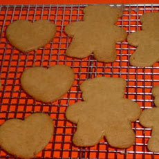 Pepparkakor With Orange Glaze (Spice Cookies)