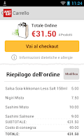 Screenshot of JUST EAT - Pizza a Domicilio