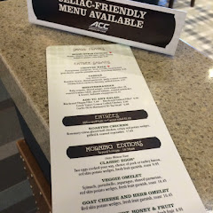 Great gf menu with breakfast and lunch/ dinner items