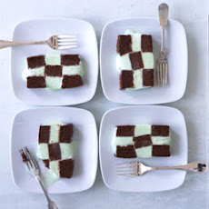 Frozen Mint Chocolate Checkerboard
