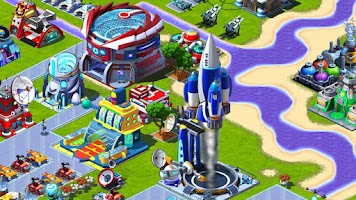 Screenshot of Cosmic Colony