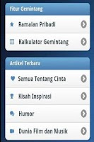 Screenshot of Gemintang - Ramalan Bintang
