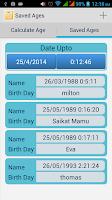 Screenshot of Easy Age Calculator