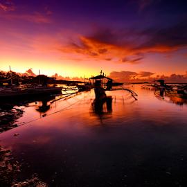 lovely sunrise by Ferdinand Ludo - Landscapes Sunsets & Sunrises ( mactan, beautifl colors, cebu, cordoba )