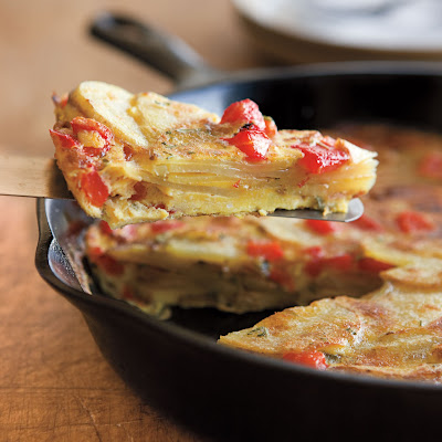 Potato and Pepper Frittata