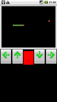 Screenshot of classic snake game