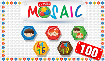 Screenshot of Mosaic Children Lite