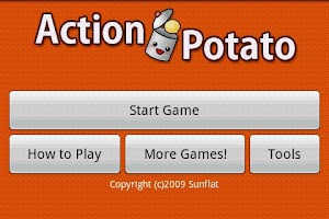Screenshot of Action Potato