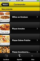 Screenshot of Pizzas Paris