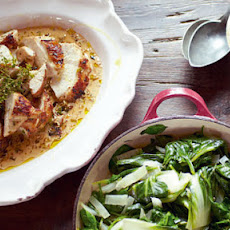 Mustard Chicken And Black Forest Affogato Meal