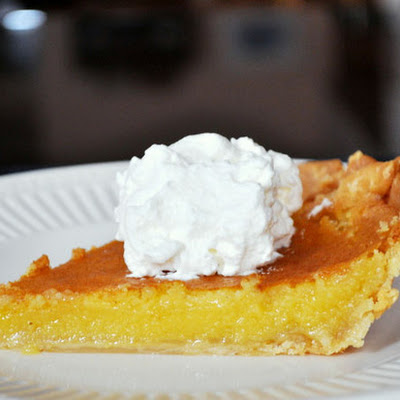 Meyer Lemon Chess Pie