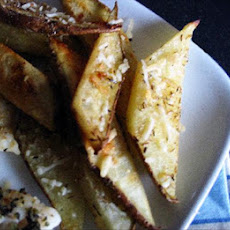 Parmesan Thyme Potato Wedges