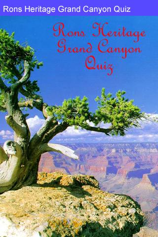 Rons Grand Canyon Quiz