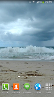 Screenshot of Waves Live Wallpaper HD 13