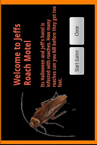 Halloween Roach Motel Free Ed.