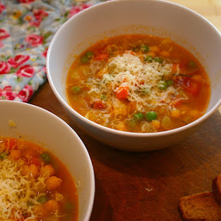 Chunky Tomato Vegetable Soup Recipes