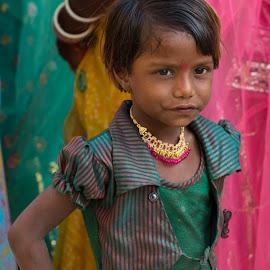 Indian Wedding by Janet Marsh - Babies & Children Children Candids ( child, girl, indiapart1, wedding,  )