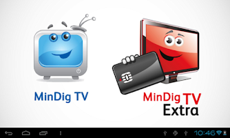 Screenshot of MinDig TV