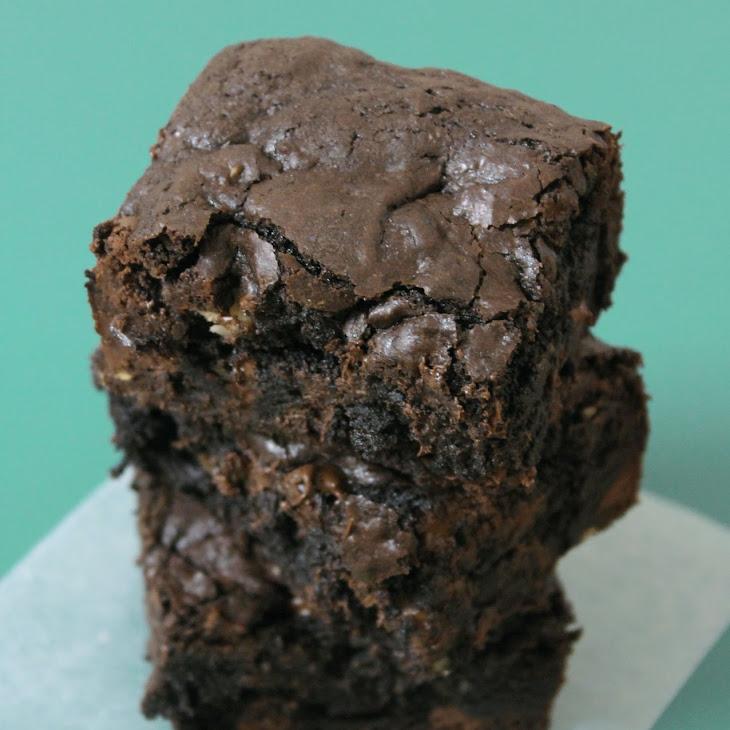 Deep-Dark Fudgy Brownies Recipe | Yummly