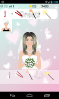 Screenshot of wedding dress up games