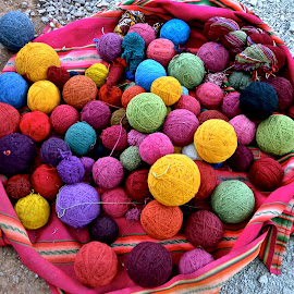 Balls of Alpaca Yarn by Tyrell Heaton - Artistic Objects Clothing & Accessories ( balls of alpaca yarn )