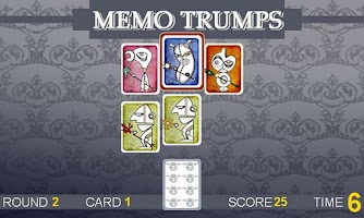 Screenshot of Memo Trumps