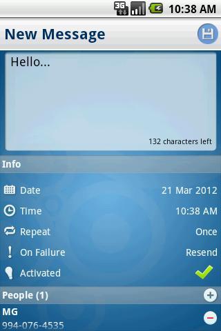 【免費通訊App】Text Message Scheduler-APP點子