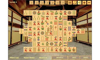 Screenshot of Mahjong Ace