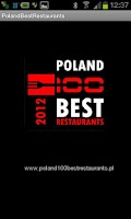 Screenshot of Poland 100 Best Restaurants