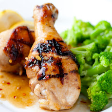 Grilled Honey Soy Glazed Chicken