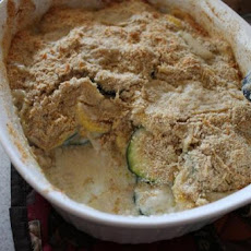 Easy Cheesy Zucchini Gratin