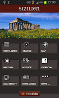 Screenshot of Sicily Travel Guide - Tourias