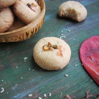 Nan Khatai - Indian Eggless Cookie